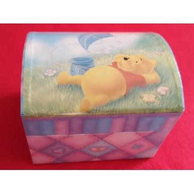 Caixa bóveda xoieiro Winnie the Pooh / Caja bóveda joyero Winnie the Pooh
