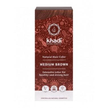 Tinte natural Castaño medio Khadi- Henna