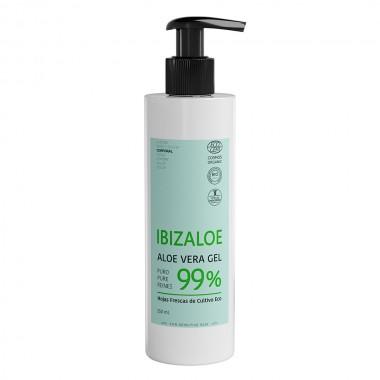 Gel Puro Aloe Vera 99% de hojas frescas 250ml
