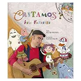 Cantamos (con pictogramas+2 CDS). Luis Vallecillo. Guindastre Edicións (G)