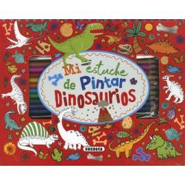 Mi Estuche de Pintar Dinosaurios. Susaeta.