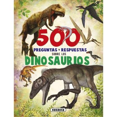 500 preguntas y respuestas sobre los Dinosaurios. Editorial Susaeta.