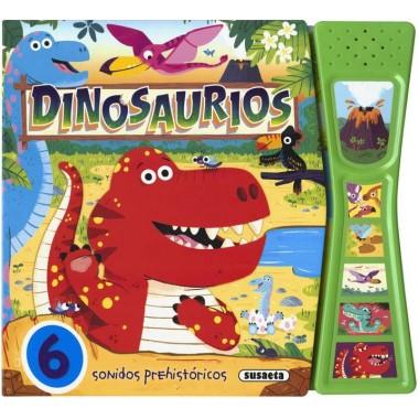 Dinosaurios. Sonidos Prehistóricos. Editorial Susaeta.