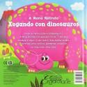 Xogando con Dinosauros (A Mona Relinda). Engaiolarte Edicións (G).