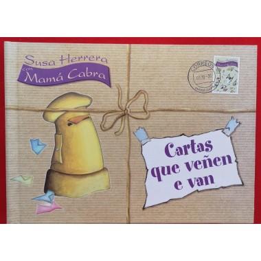 Cartas que Veñen e Van (CD). Susa Herrera con Mamá Cabra. Primerapersona editorial (G).