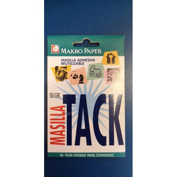 Blister masilla adhesiva reutilizable Makro Paper 50 grs.