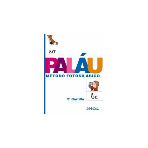 Cartilla PALÁU 2: Método Fotosilábico. Editorial Anaya.