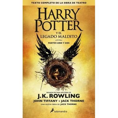 Harry Potter y el Legado Maldito (partes uno y dos). J.K. Rowling. Salamandra.