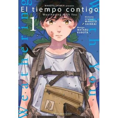 El Tiempo Contigo 1. Makoto Shinkai - Wataru Kubota. Milky Way Ediciones.