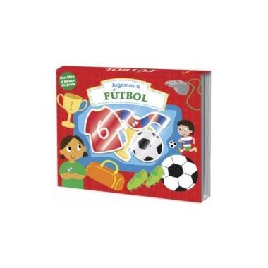 Juegamos a FÚTBOL ( libro y piezas de puzle ). LaGalera.