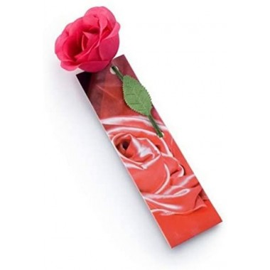 Marcapáginas Flowermark Rosa