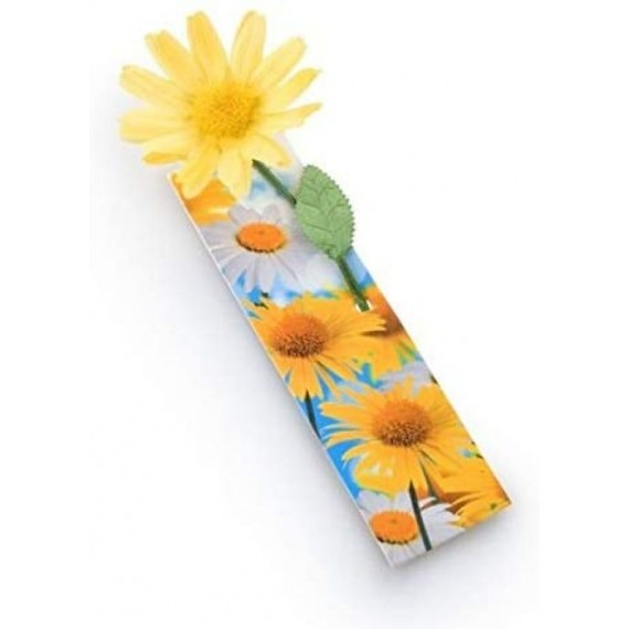 Marcapáginas Flowermark Amarillo