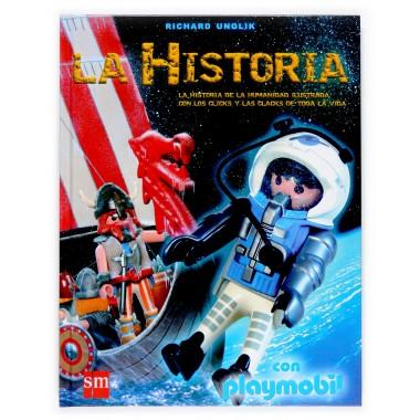 La Historia con Playmobil. Richard Unglik. Editorial SM.