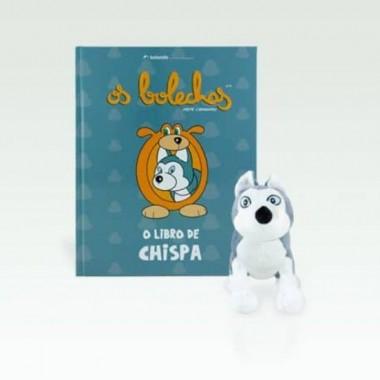 Libro + peluche de Chispa (G) - Os Bolechas