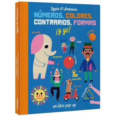 Números, Colores, Contrarios, Formas ¡ Y Yo !. Editorial Combel.