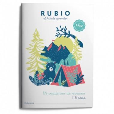 Mi cuaderno de verano RUBIO 4-5 años. El arte de Aprender. Enrique Rubio Polo SLU