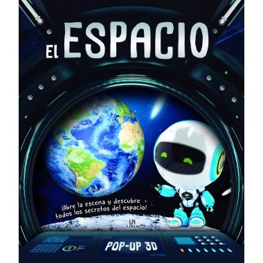 El Espacio - Libro Pop-Up 3D. Editorial LIBSA.