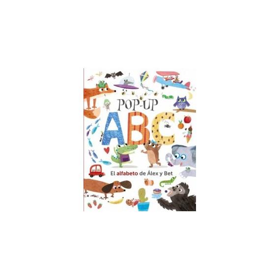 POP-UP ABC. El alfabeto de Álex y Bet. Editorial Bruño.