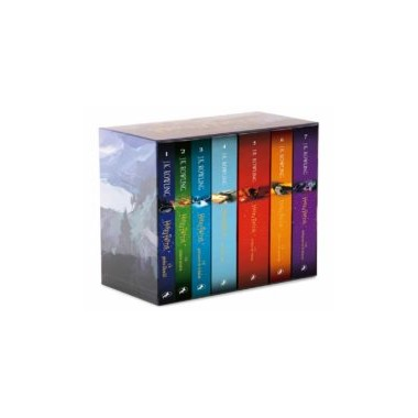 Estuche Saga Completa Harry Potter. J.K.ROWLING