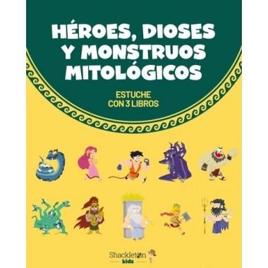 Héroes, Dioses y Monstruos Mitológicos (Estuche con 3 libros)