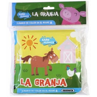 Baño Mágico La Granja. Cambian de color los animales.