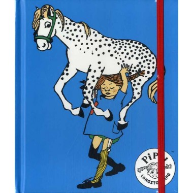 Cuaderno con goma PIPPI CALZASLARGAS.