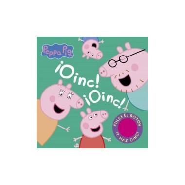 ¡OINC! ¡OINC! Libro de sonidos de Peppa Pig.