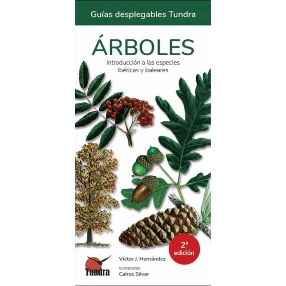 Árboles. Guías desplegables Tundra.
