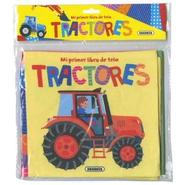 Tractores. Mi primer libro de tela.