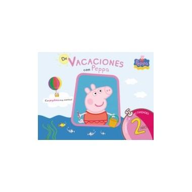 Cuaderno de vacaciones con Peppa Pig 2 años. ALTEA.