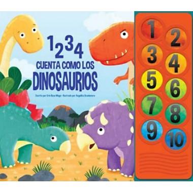 1 2 3 4 Cuenta como los Dinosaurios