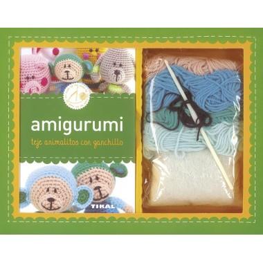 Amigurumi (teje animalitos con ganchillo). Ediciones Tikal.