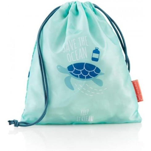Bolsa de merienda Save the Ocean 245*220*210mm .