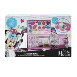 Set maquillaje Disney Minnie Mouse 2 niveles.