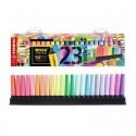 Set de 23 marcadores fluorescentes Stabilo Boss Original + Boss Original Pastel.
