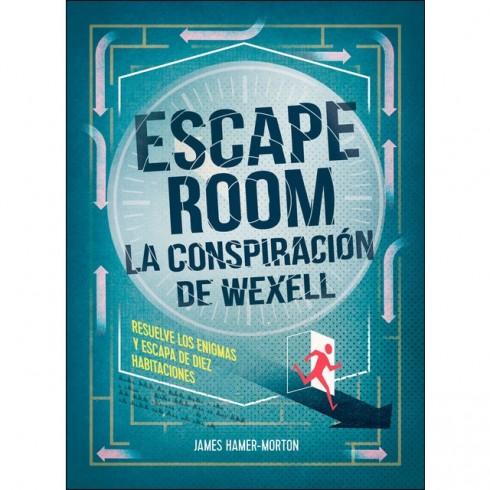 Escape  Room. La conspiración de Wexell. Resuelve enigmas.