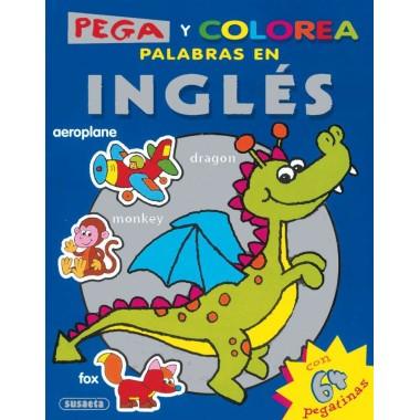 PEGA Y COLOREA palabras en INGLÉS