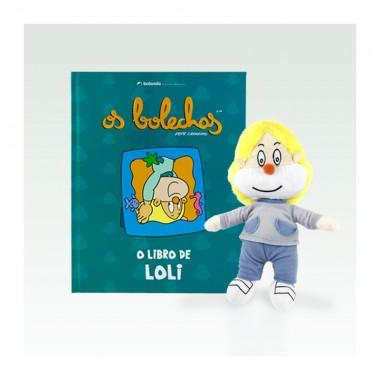 Libro + peluche de Loli (G) - Os Bolechas