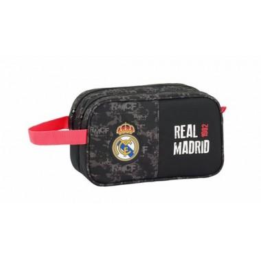 Neceser 2 cremalleras Real Madrid.