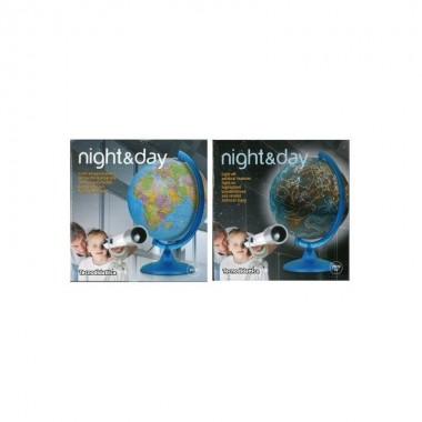 ESFERA TECNODIDATTICA FYP NIGHT&DAY (DESTACA CONSTELACIONES Y ZODIACO) 25CM