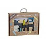 Caixa de ferramenta madeira / caja herramientas madera