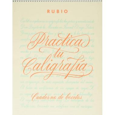 Cuaderno de Bocetos. Practica tú caligrafía (Esto no es todo)