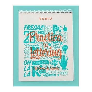 Cuaderno de Bocetos. Practica tu Lettering (Hecho a Mano)