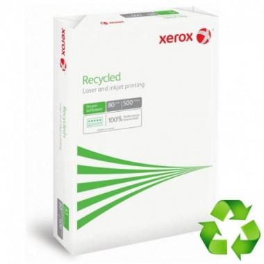 Paquete A4 XEROX 500 H.  reciclado 80 gr.
