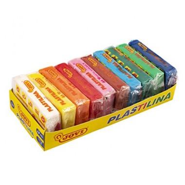 Estuche 10 pastillas Plastilina 50 gr. JOVI ( colores surtidos )