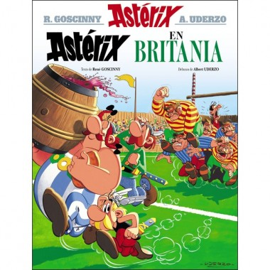 Asterix en BRITANIA.  Comic. Xerais (G).