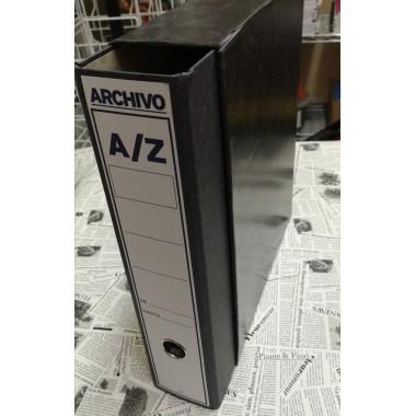 Archivador con caja A-Z folio