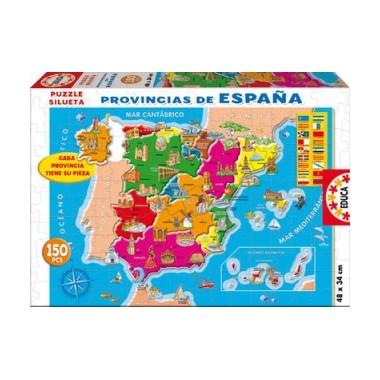 Puzzle Mapa de España 150 piezas / Puzle Mapa de España 150 pezas