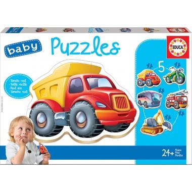 Baby Puzzles Vehículos