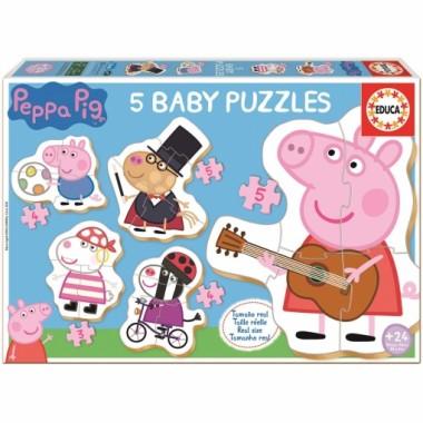Puzzle Educa Baby Peppa Pig / Puzle Educa Baby Peppa Pig
